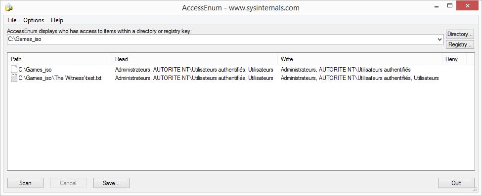 AccessEnum